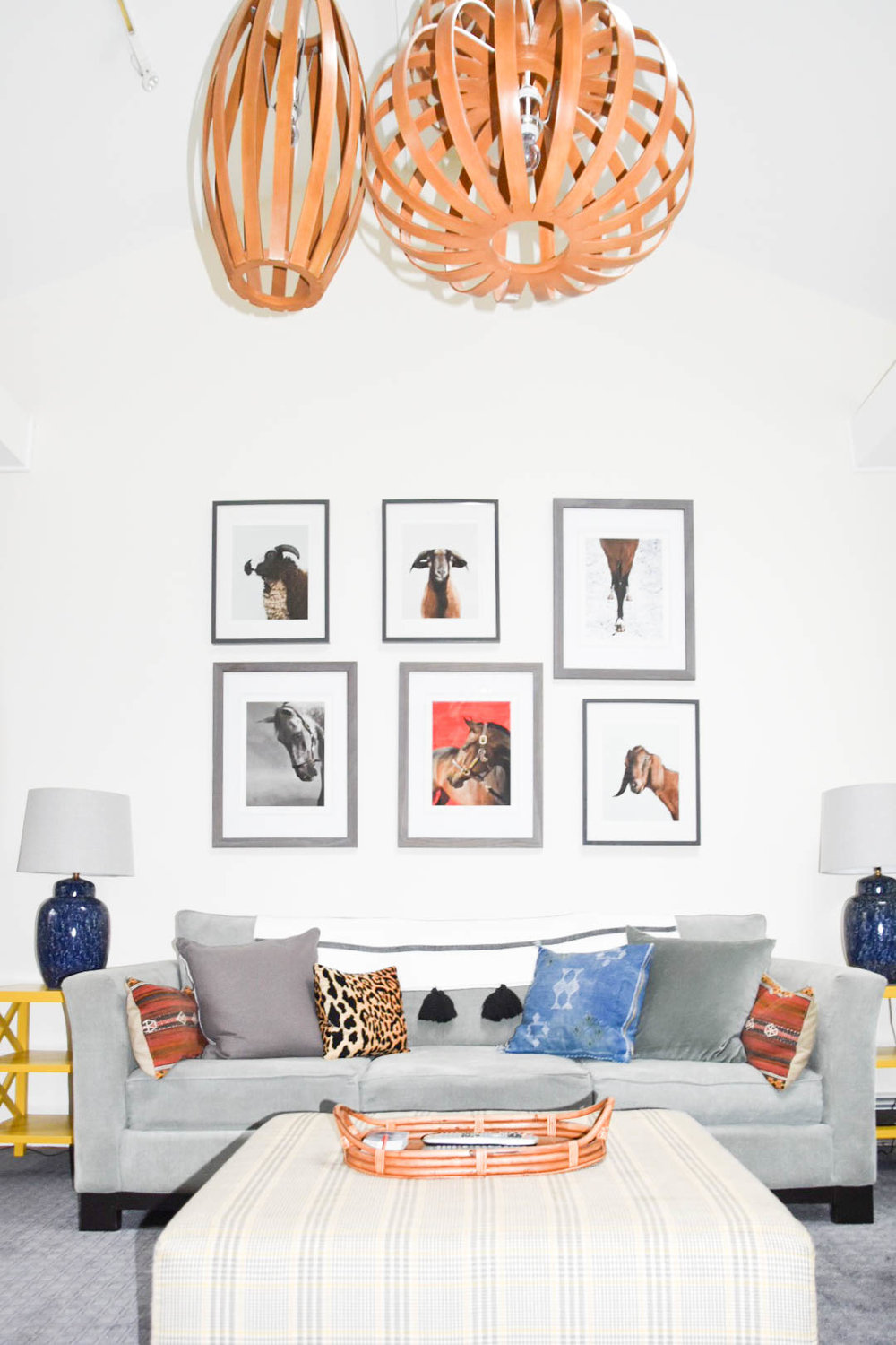 modern eclectic midcentury playroom diy animal color remodel therathproject