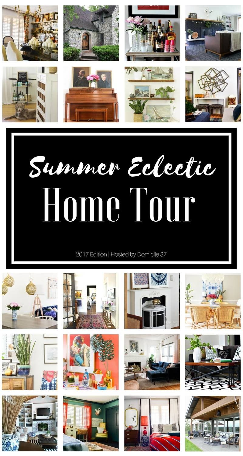 eclectic home tours interior decor vintage modern