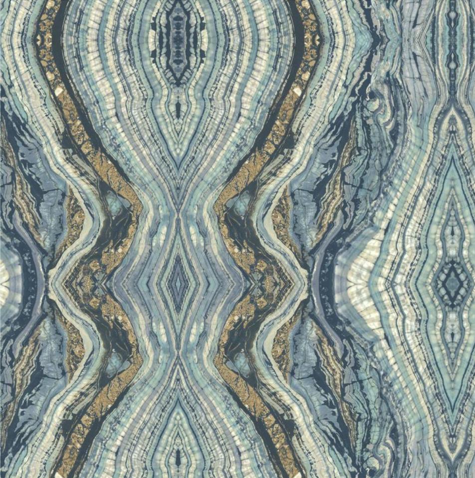 Kashmir Kaleidoscope Abstract Wallpaper