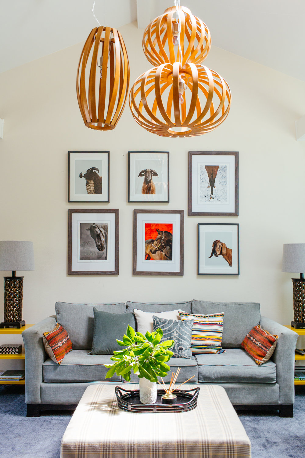 eclectic mid century colorful family room den therathproject