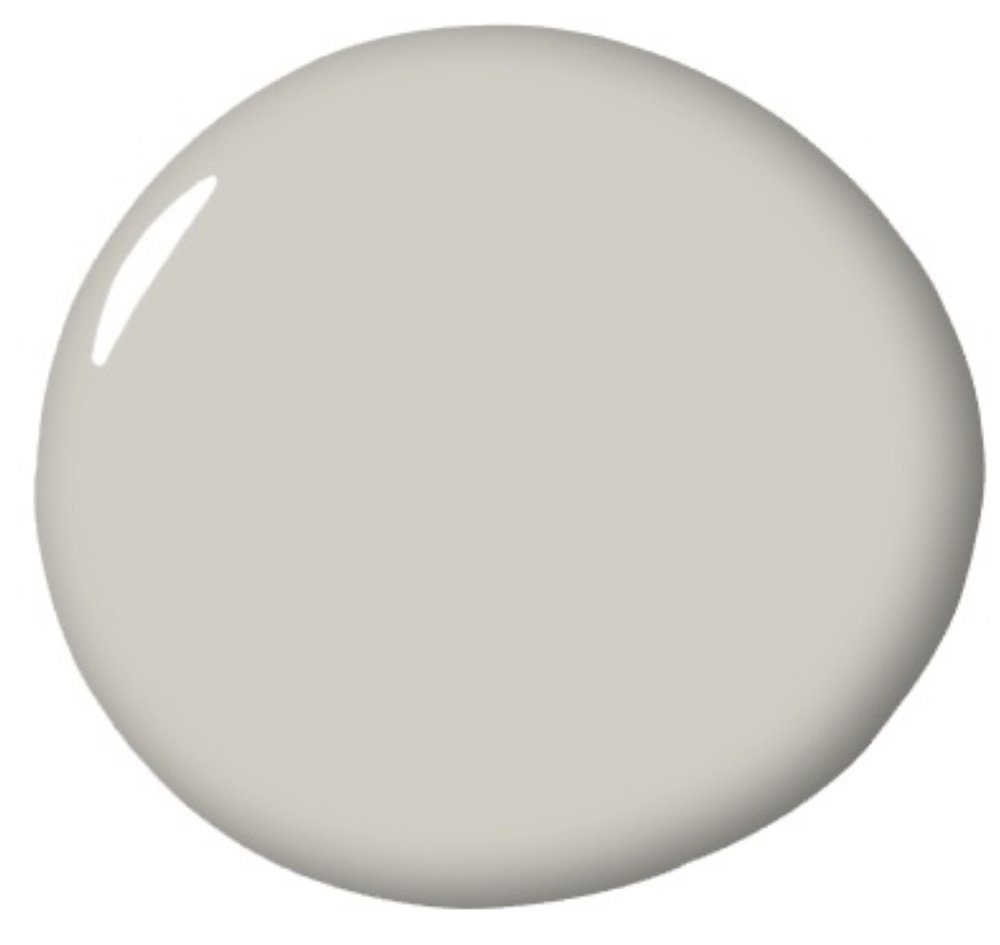 Rodeo by Benjamin Moore ( favorite gray paint of The Rath Project)