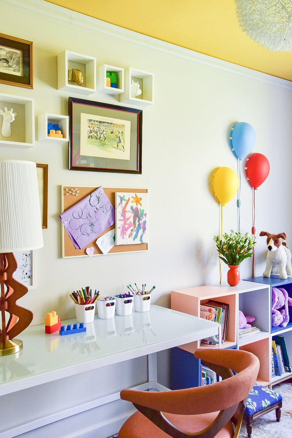 Eclectic modern Colorful kids room by Diane Rath The Rath Project