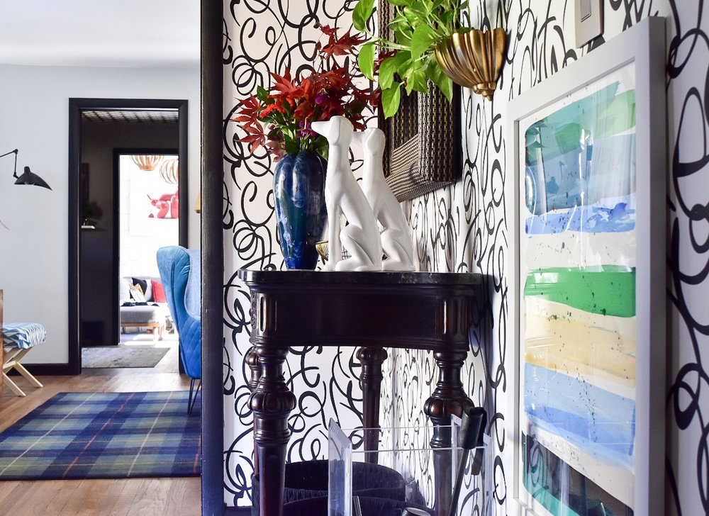 Modern Entry  Makeover by the Rath Project