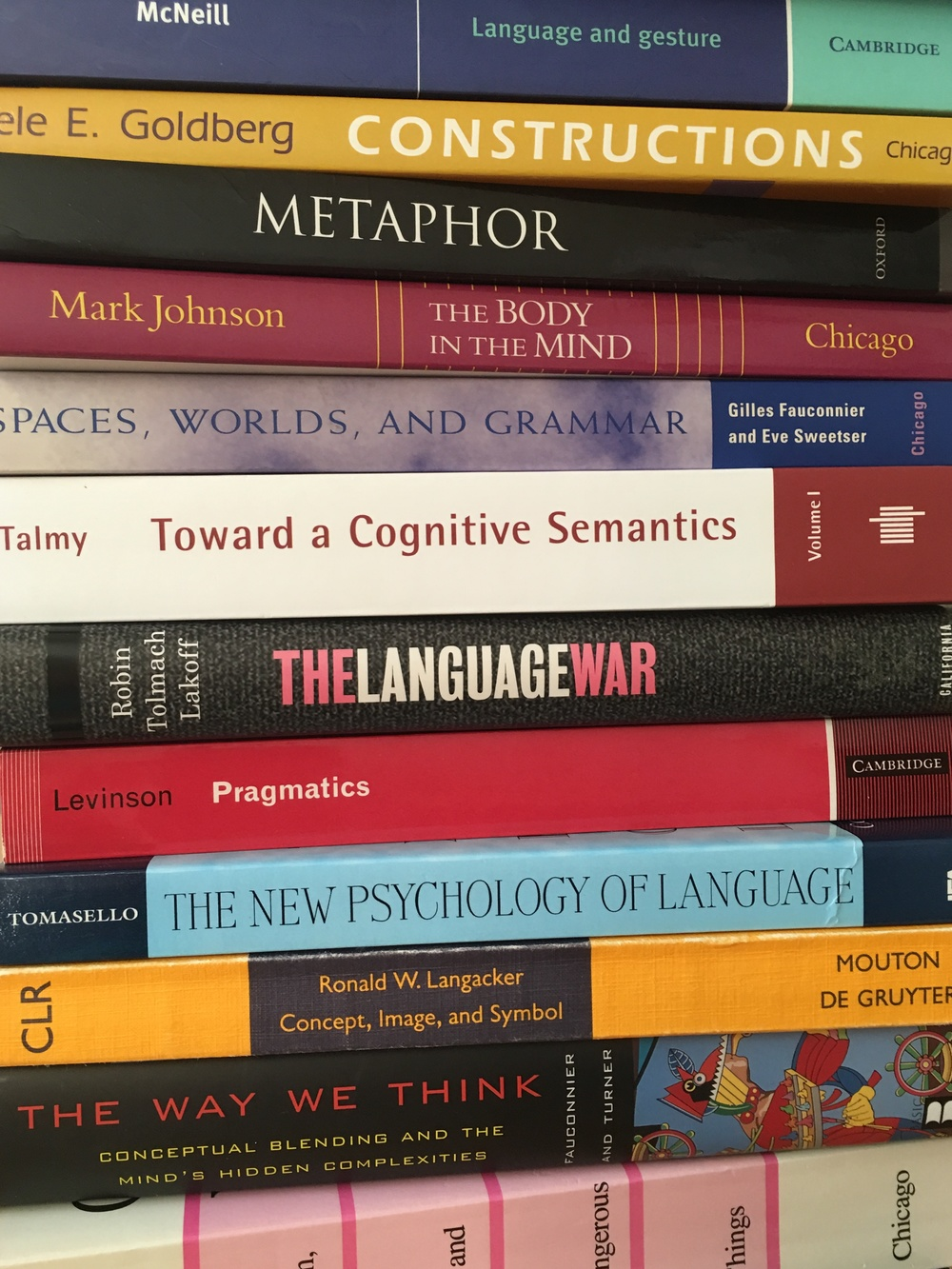 Cognitive Linguistics Reading