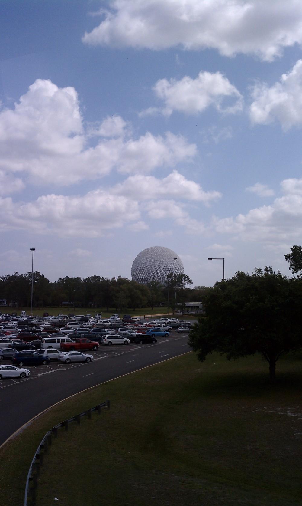 Epcot's Geodesic Sphere 1