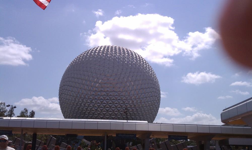 Epcot's Geodesic Sphere 3