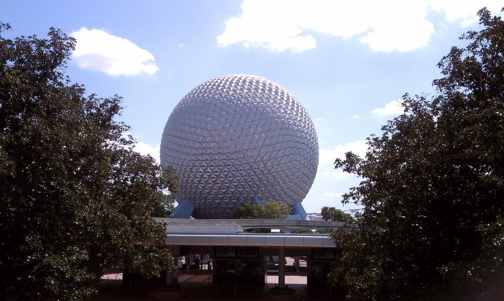 Epcot's Geodesic Sphere 4