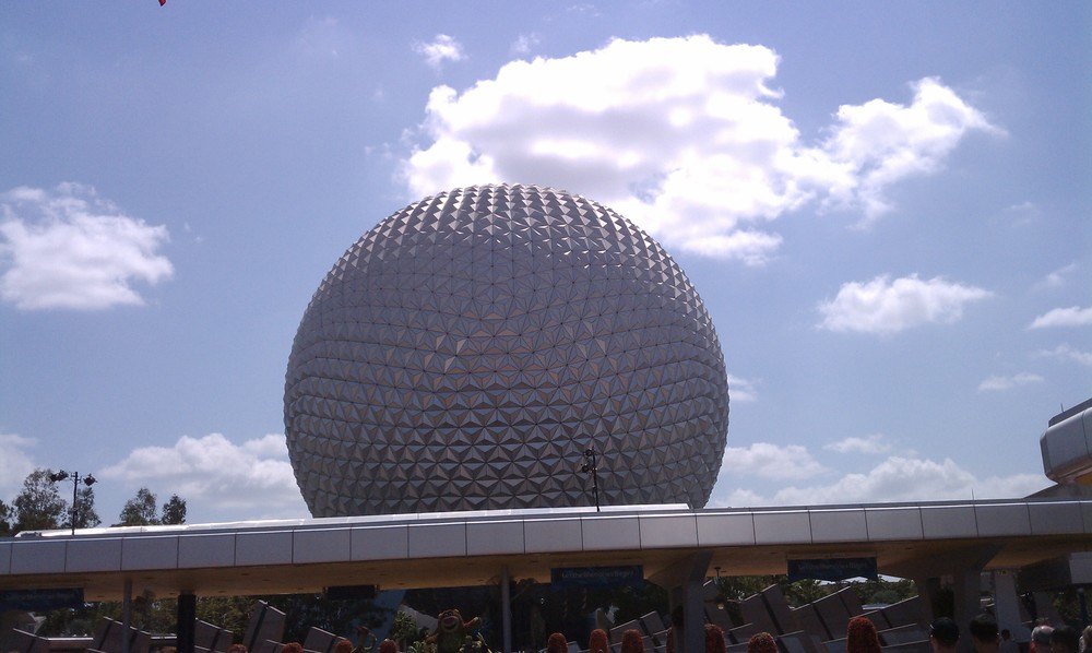 Epcot's Geodesic Sphere 2