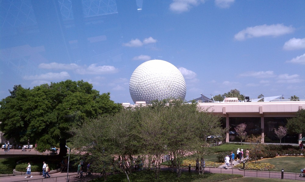 Epcot's Geodesic Sphere 5