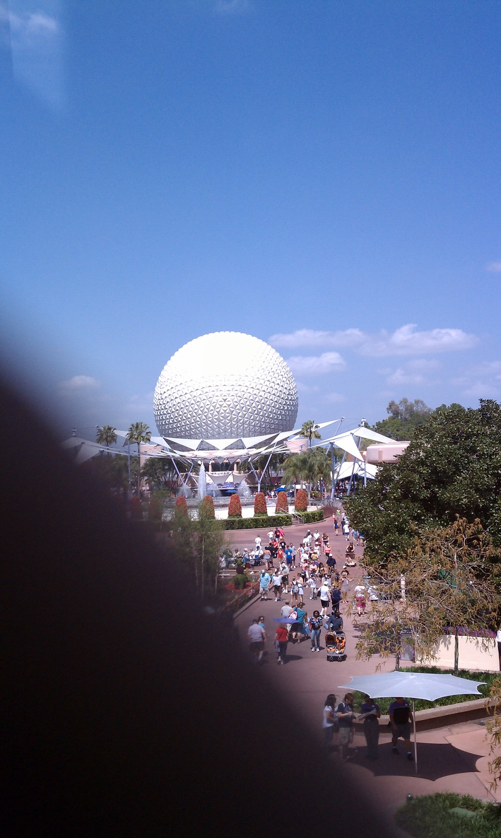 Epcot's Geodesic Sphere 6