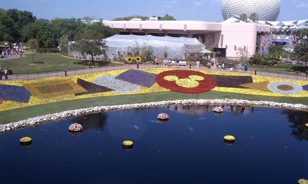 Epcot From A Monorail 3