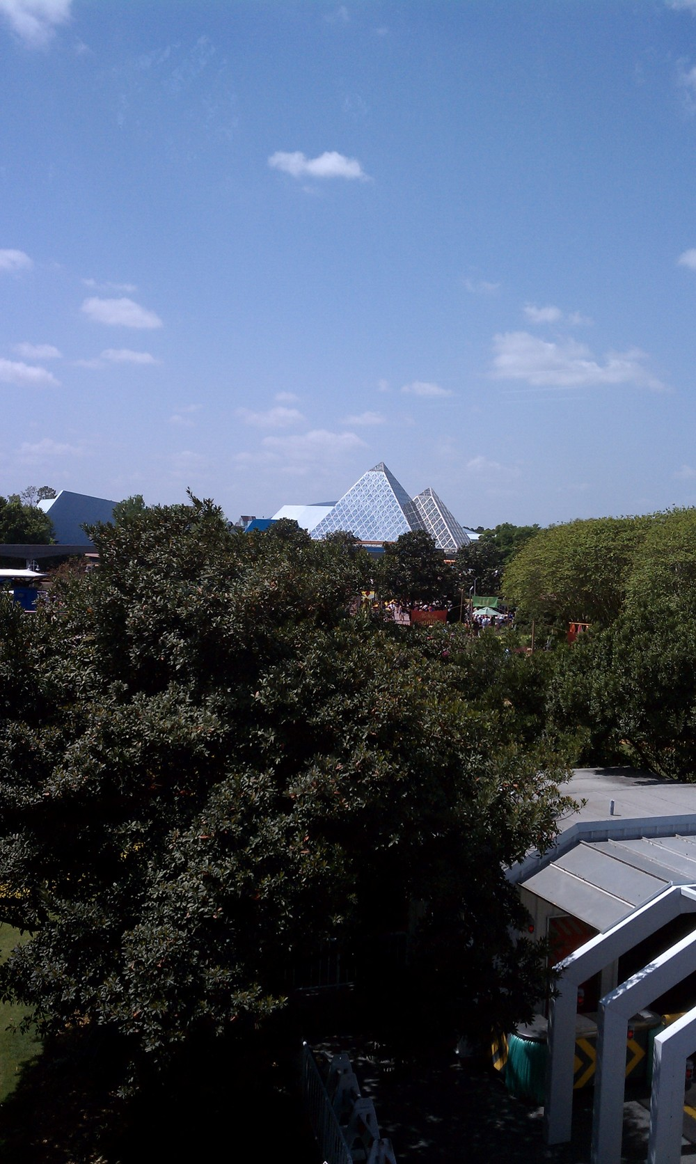 Epcot From A Monorail 5