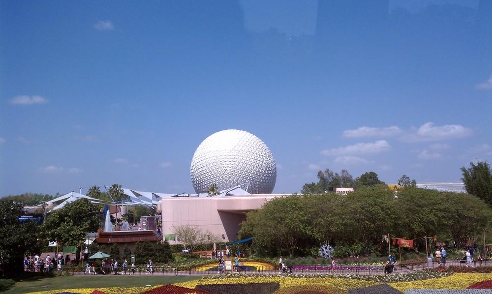 Epcot's Geodesic Sphere 7