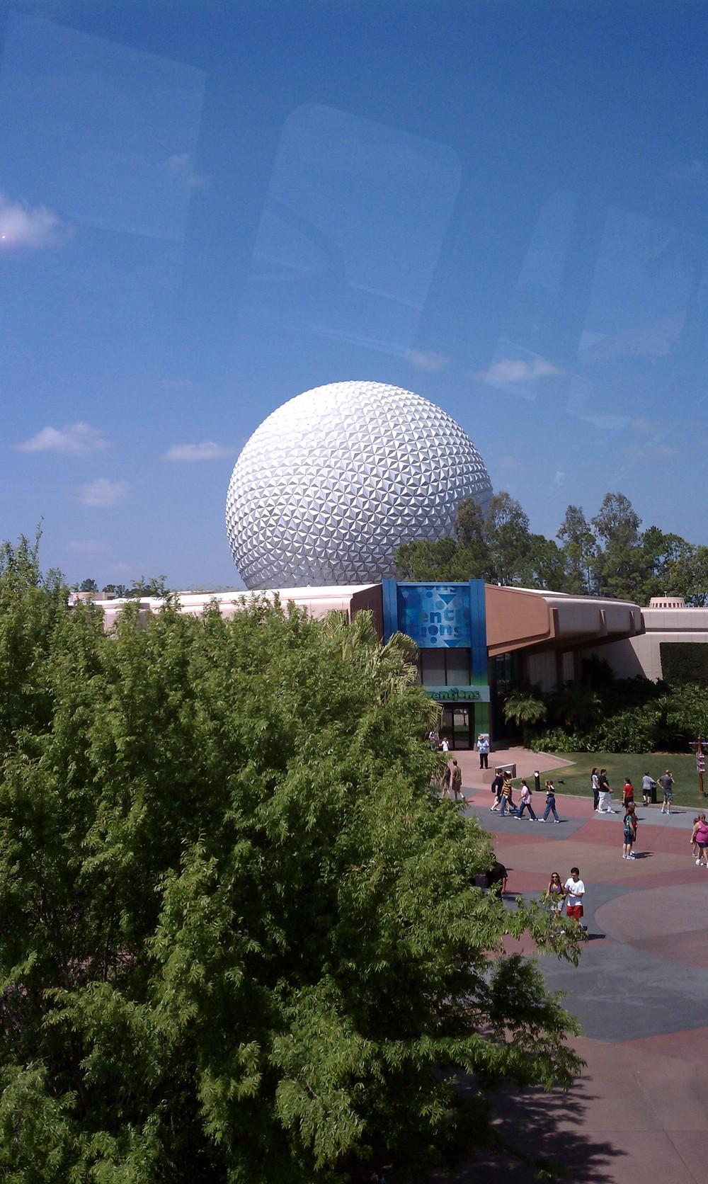 Epcot's Geodesic Sphere 8