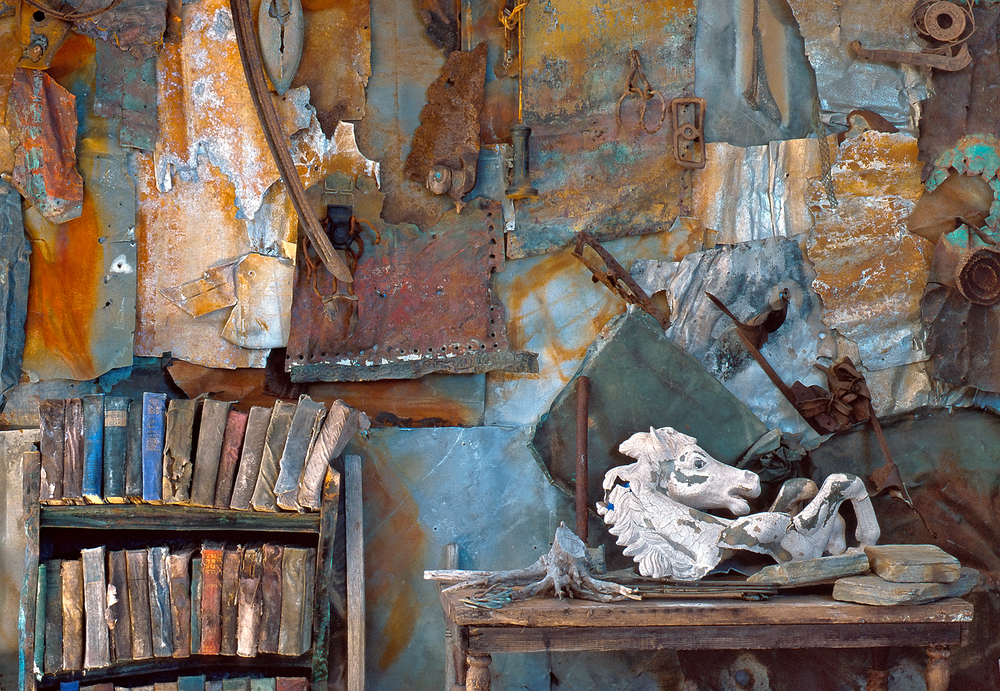 Rosamond Purcell's studio.