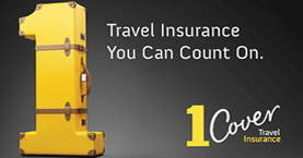 1Cover Travel Insurance - Australians only (or foreigners travelling to Australia).