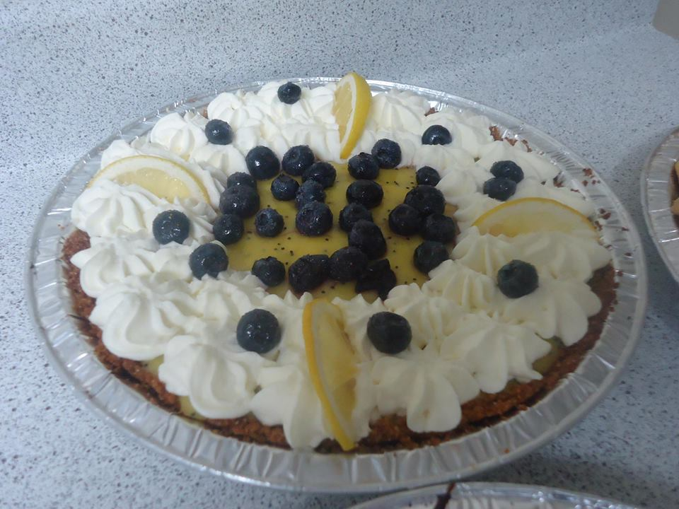 Lemon Poppyseed with Blueberries