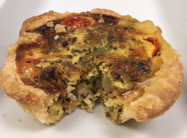 Seasonal Veggie Quiche