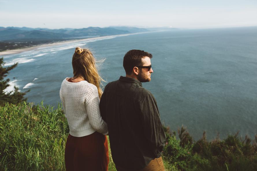 Oregon Coast Engagement Photos-16