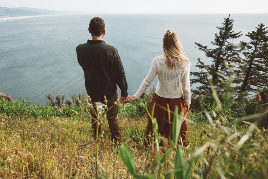 Oregon Coast Engagement Photos-23