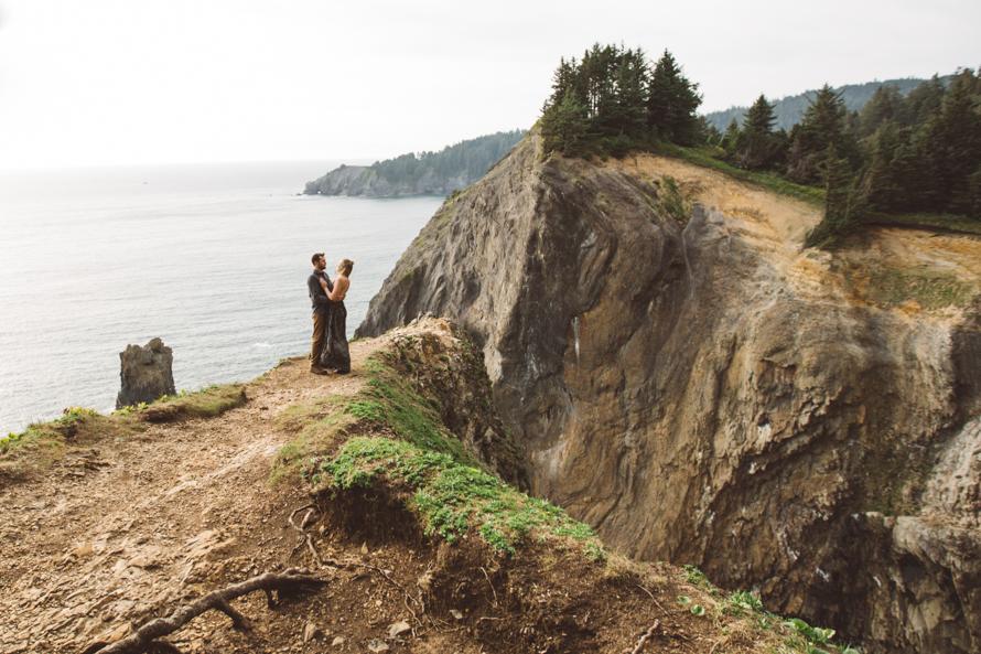 Oregon Coast Engagement Photos-30