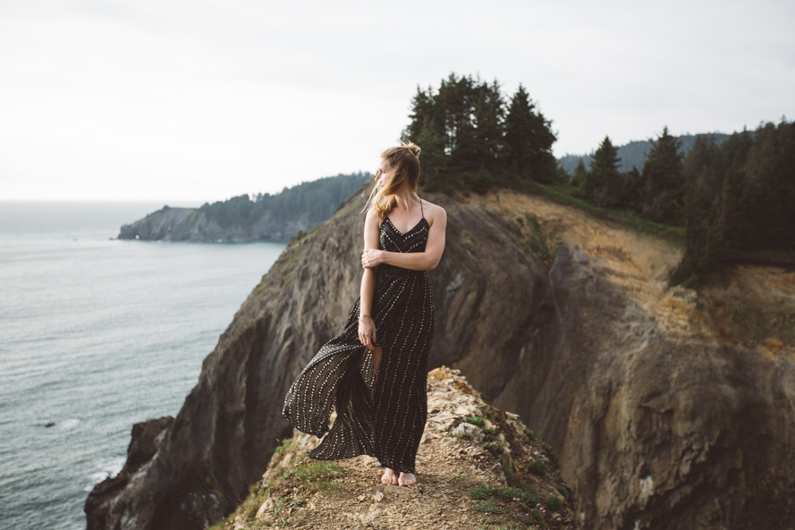 Oregon Coast Engagement Photos-35