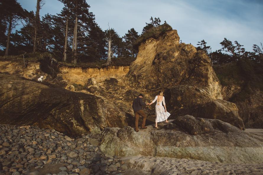 Oregon Coast Engagement Photos-64