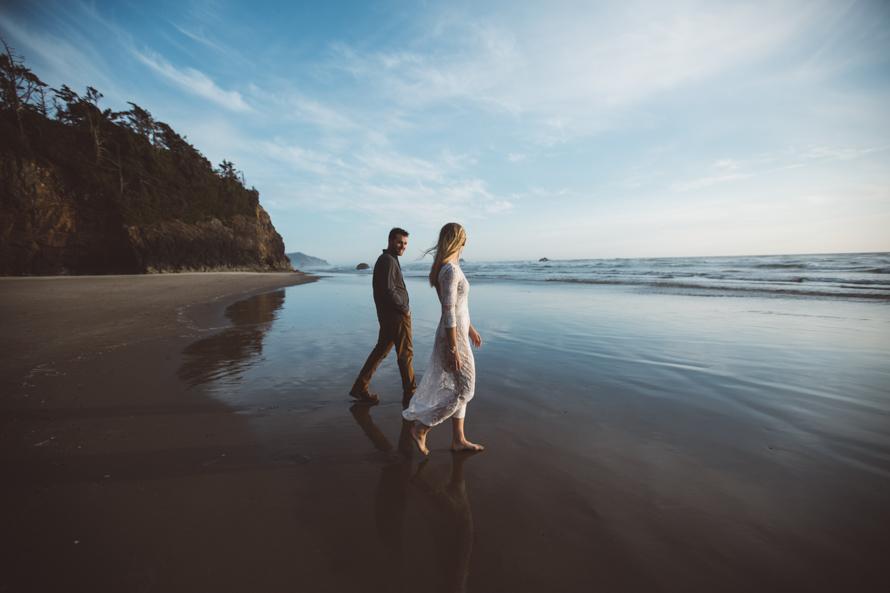 Oregon Coast Engagement Photos-68