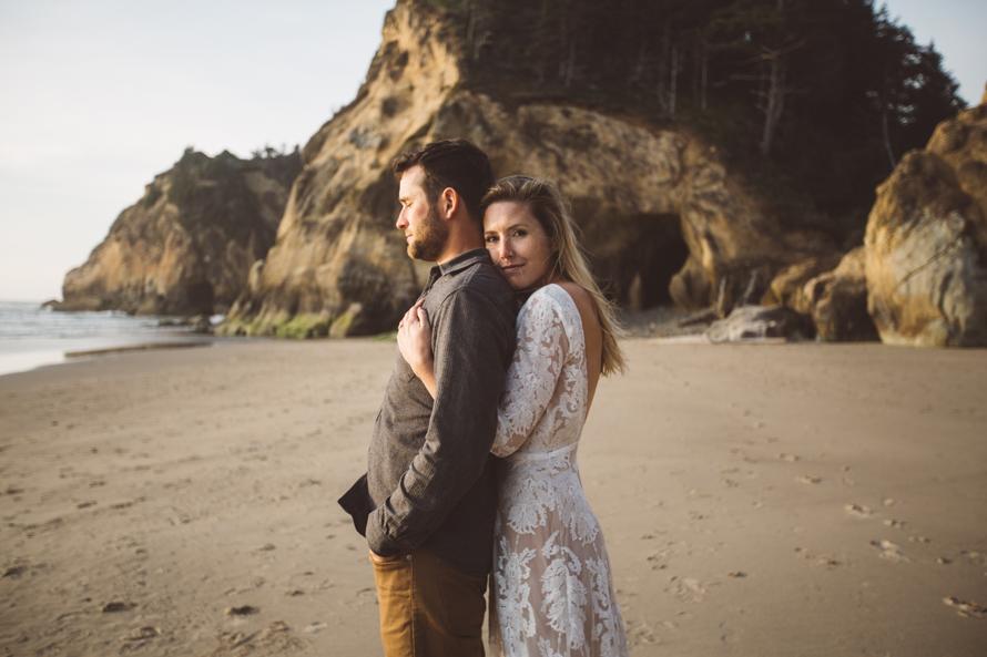 Oregon Coast Engagement Photos-73