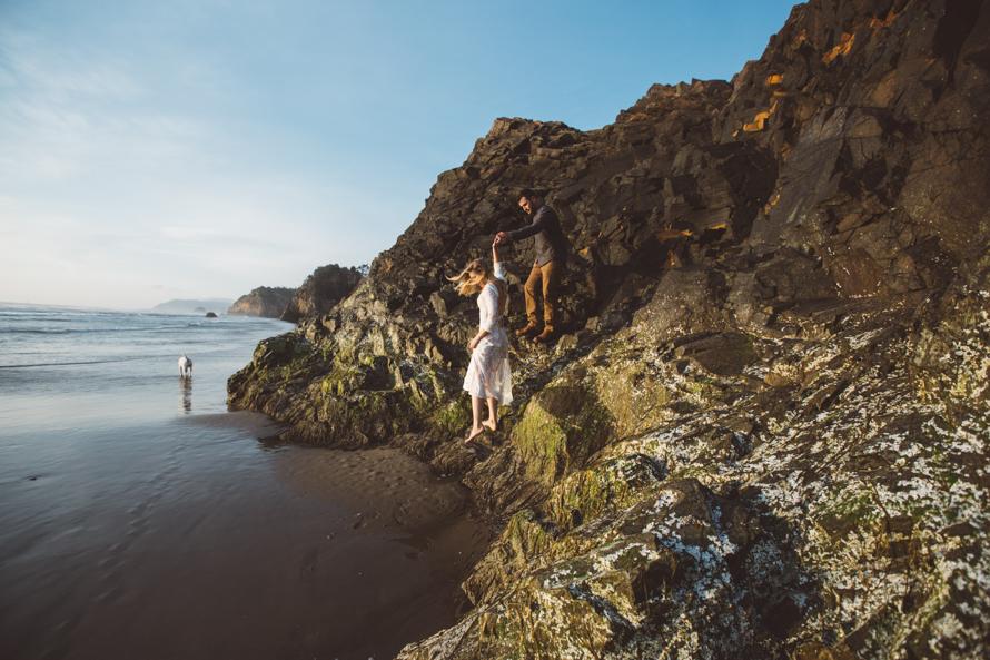 Oregon Coast Engagement Photos-81