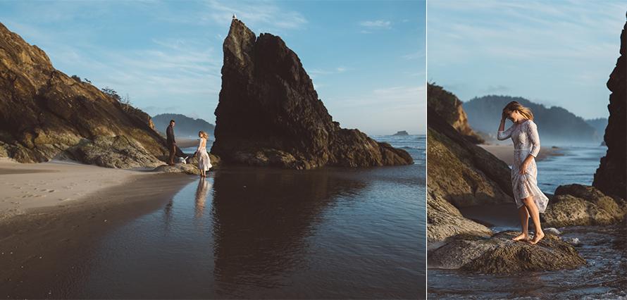 Oregon Coast Engagement Photos-83