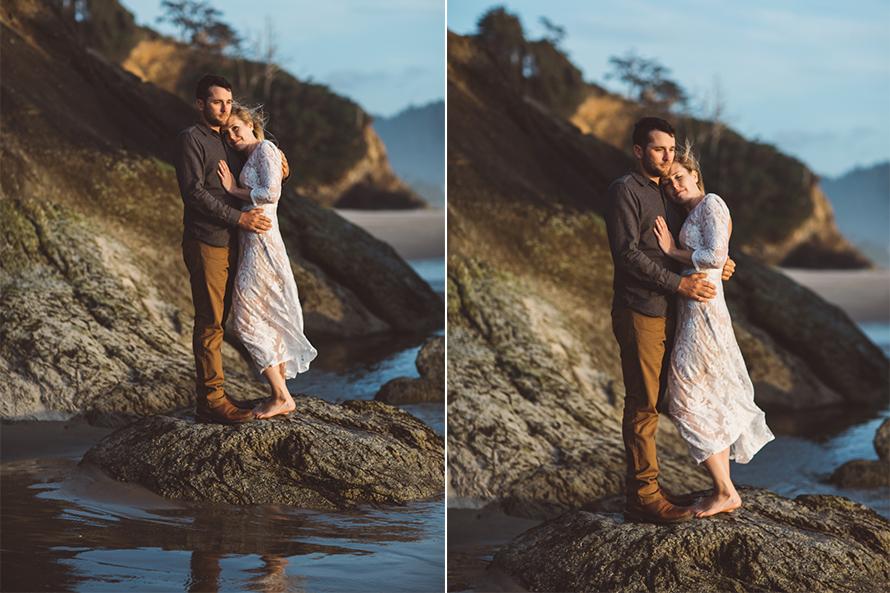 Oregon Coast Engagement Photos-85