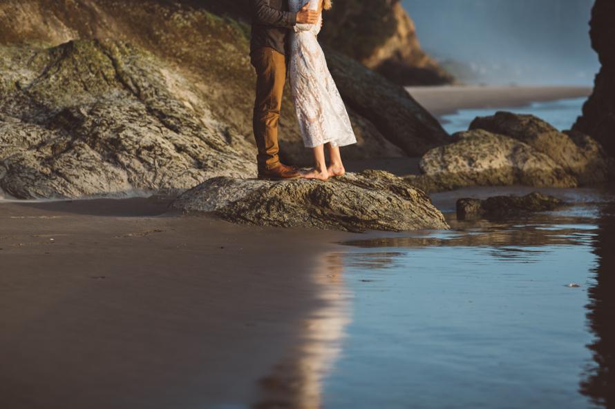 Oregon Coast Engagement Photos-87