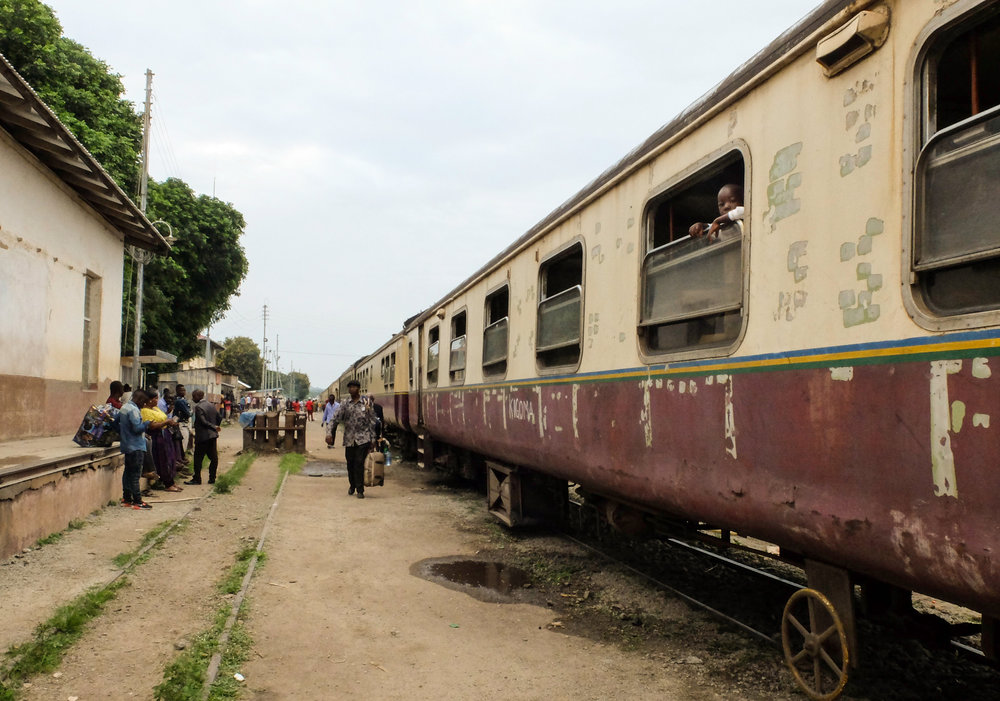 24 Hours on the Central Line Train Across Tanzania — Slow Road