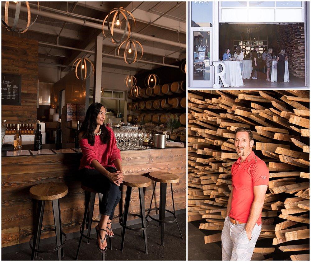L: Yvonne Davis, Kerloo Cellars | Kerloo Entry | R: Ryan Crane, Wine Maker, Kerloo Cellars