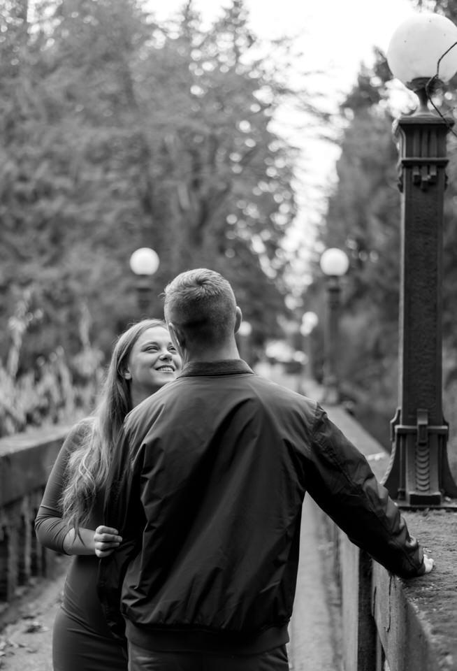 Seattle Engagement C Servin Photographs UW Arboretum Botanic Garden Bridge Portrait-22.jpg