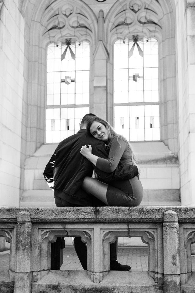 Seattle Engagement C Servin Photographs UW Suzzallo Library-1.jpg