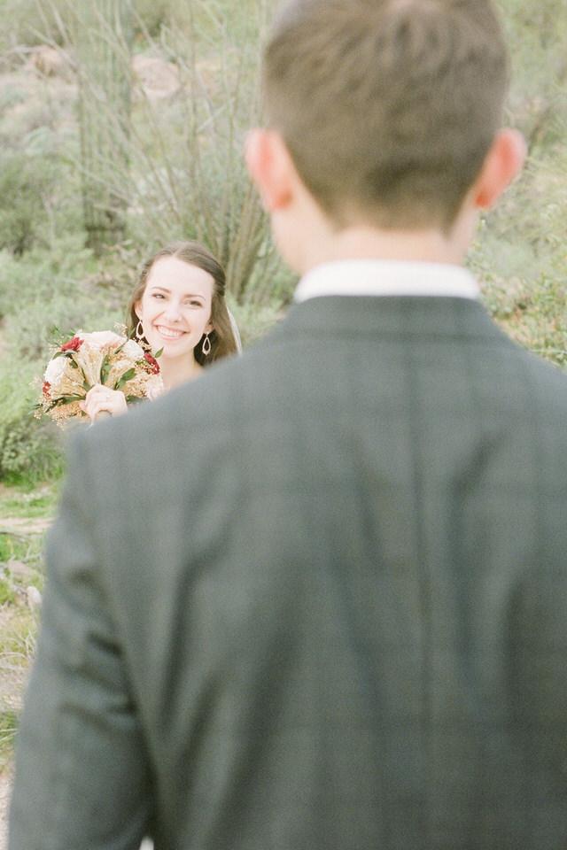 Arizona Desert Winter Wedding Portraits Gown and Dark Suit Christina Servin Photographs-6.jpg