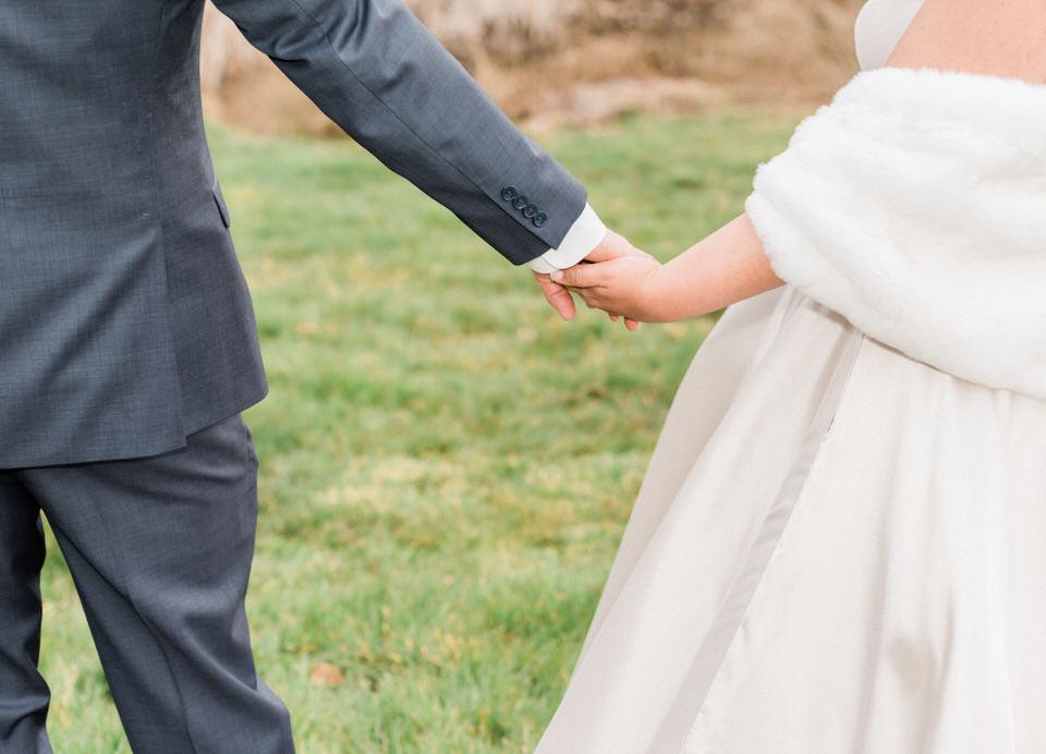 Couples Wedding Portraits Winter Silk Gown White Fur Wrap Seattle Christina Servin Photographs Film-2.jpg
