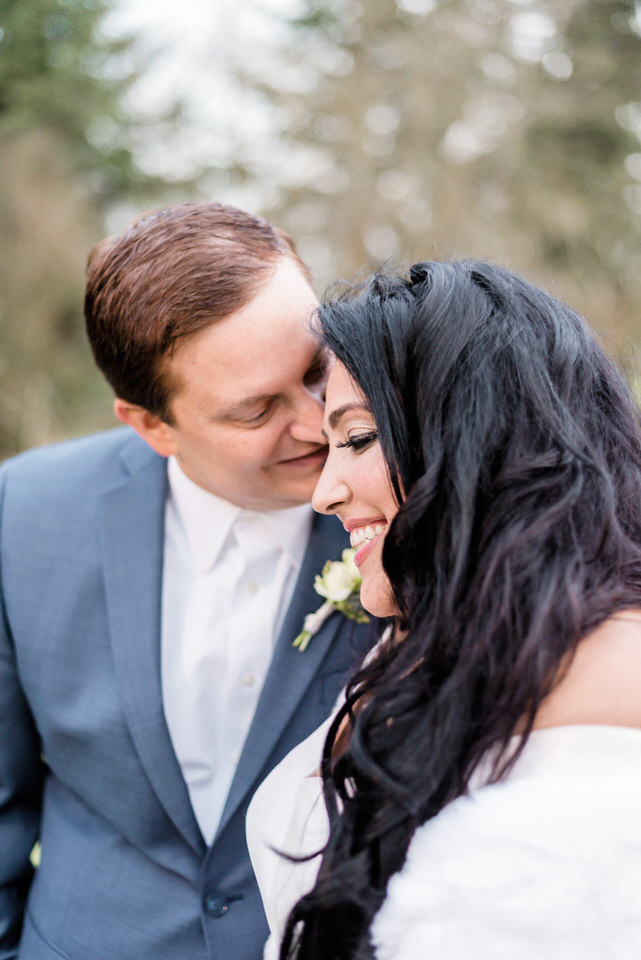 Couples Wedding Portraits Winter Silk Gown White Fur Wrap Seattle Christina Servin Photographs Film-3.jpg