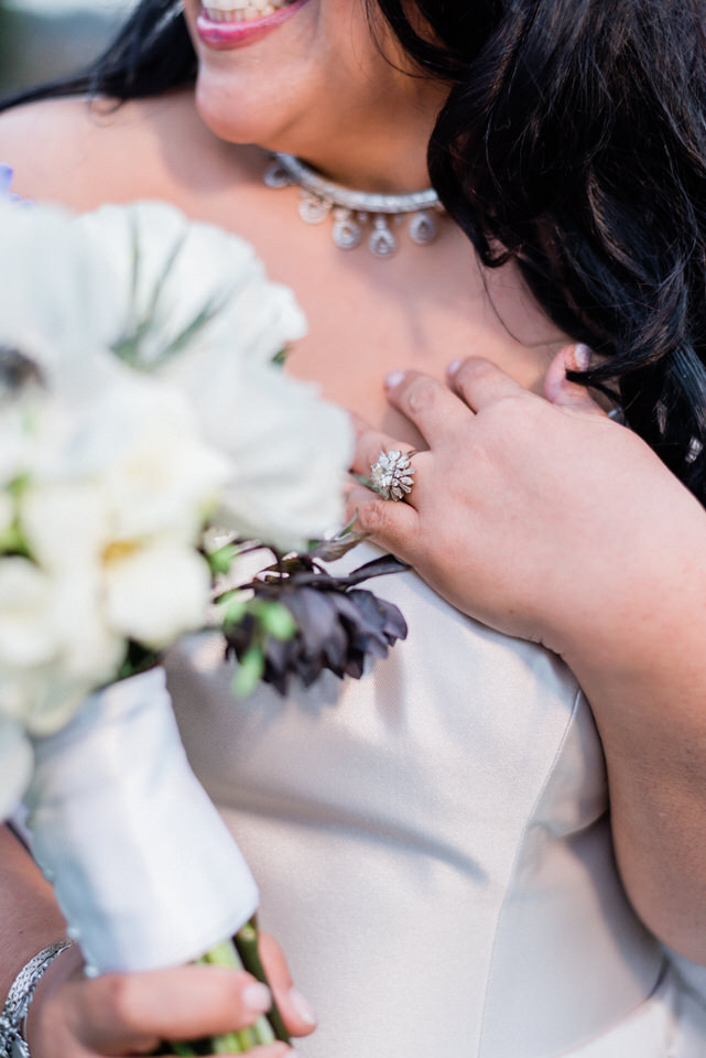 Spring Seattle wedding silk gown white fur wrap navy suit CServinPhotographs-7.jpg