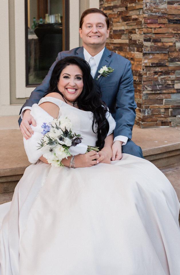 Spring Seattle wedding silk gown white fur wrap navy suit CServinPhotographs-11.jpg
