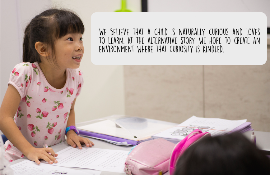 We believe that a child is naturally curious and loves learning.