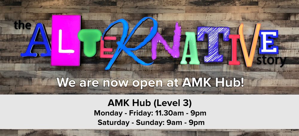 We Are Now Open At AMK Hub!