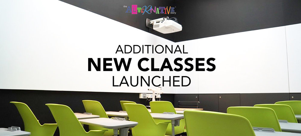 Additional New Classes Launched