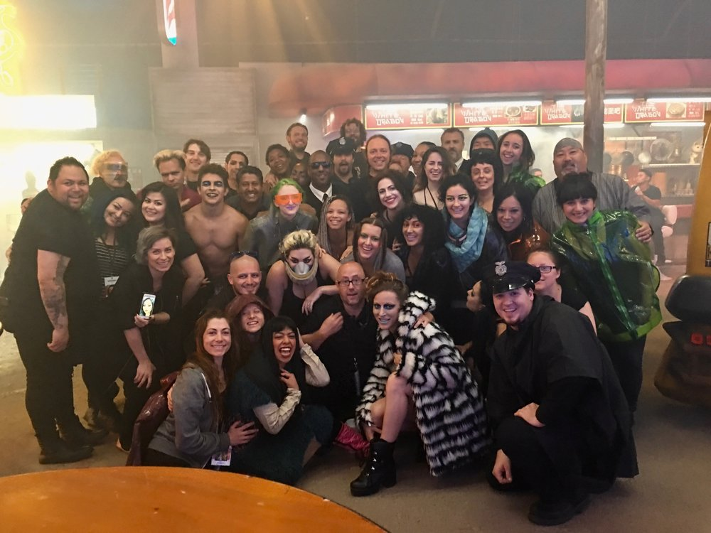Cast and our crew!  *Sadly, this doesn't include the staff and crew of the  entire  experience.It really did take a village, and they were so on top of things and had our backs. We're so grateful.