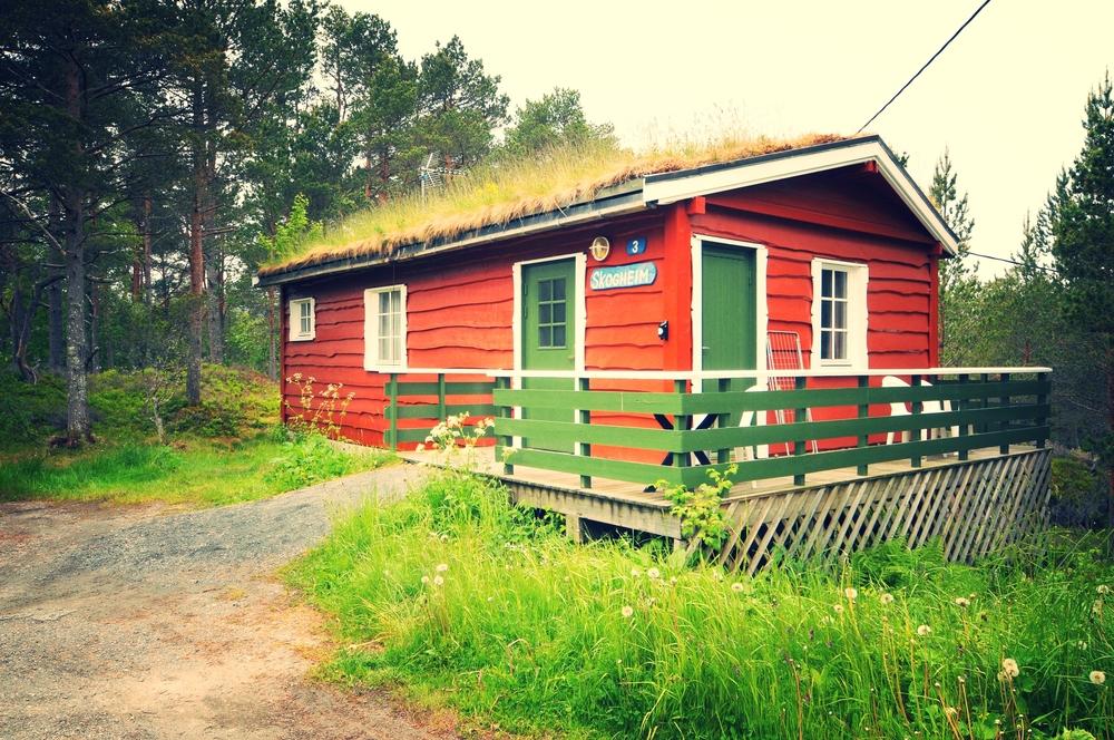 Byskogen Camping - Hyttte Skogheim(2)
