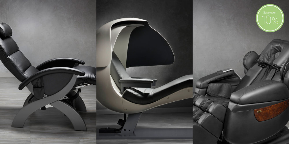 Gravity Neutral Recliner - Napping Pod - Massage Chair