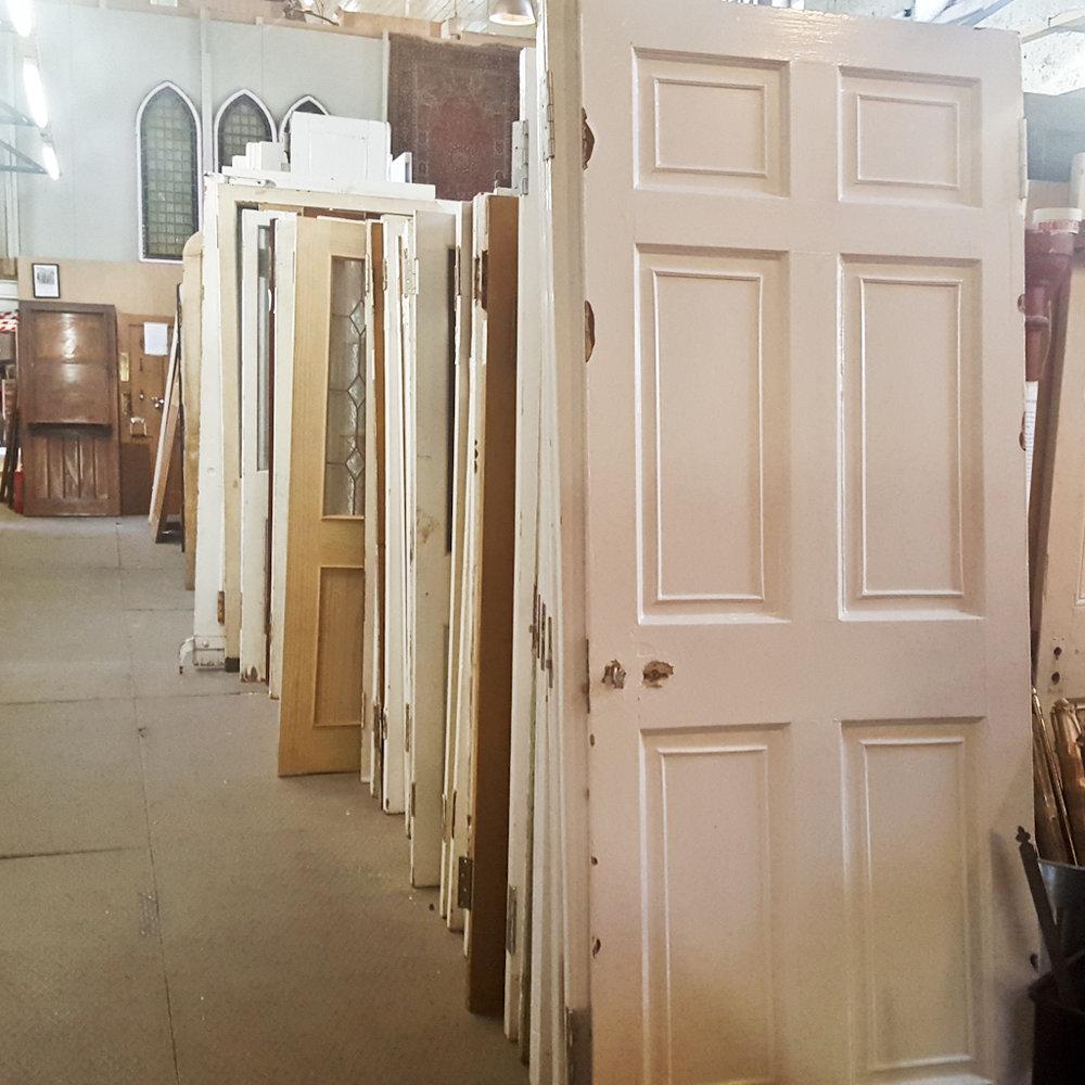 Six Panel Doors.jpg & Reclaimed Glazed Four Five and Six Panel Doors \u2014 Holyrood ... Pezcame.Com