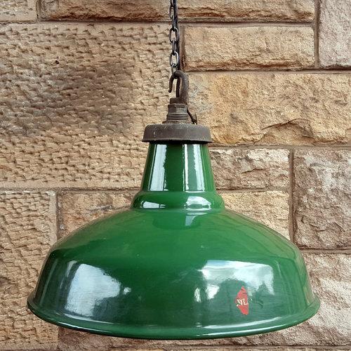 7d4e18d9b910 Atlas' Green Enamel Industrial Lights 1132 — Holyrood Architectural ...